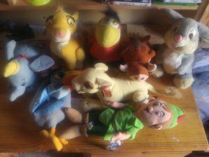 Disney plush lot for Sale in Aberdeen, WA