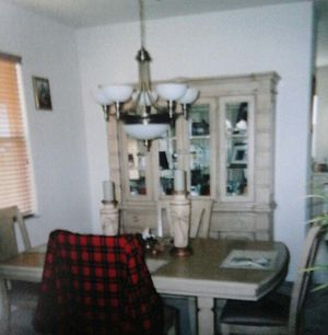 BUFFET AND TABLE AND CHAIRS for Sale in Fort Myers, FL