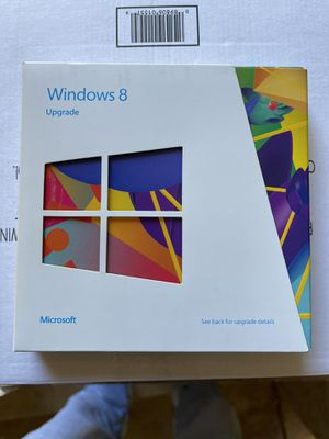 Microsoft Windows 8 UPGRADE for Sale in Chandler, AZ