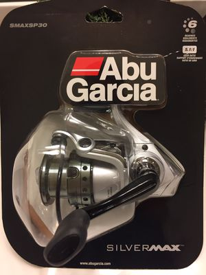 Abu Garcia Silver Max spinning reel for Sale in Gainesville, VA
