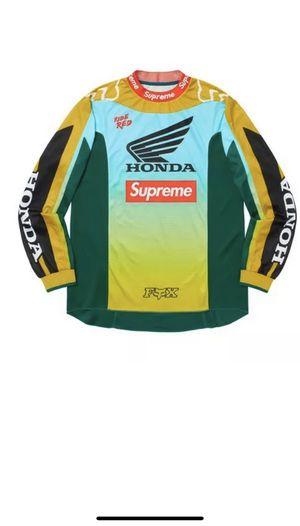 New Supreme Honda Fox Racing Moto Jersey Top Moss Medium for Sale in Naugatuck, CT