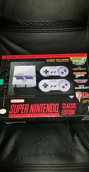 The Super Nintendo Classic Edition. for Sale in Pflugerville, TX