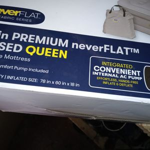 Serta Queen 18' Raised Air Mattress for Sale in Sacramento, CA