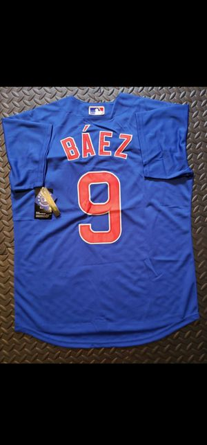 Javier Bàez - Chicago Cubs Jersey Size Large for Sale in Hoffman Estates, IL