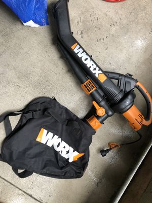 Worx leaf blower for Sale in San Bruno, CA