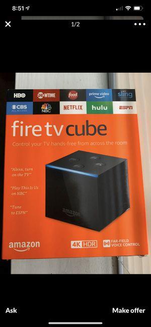 Amazon Fire Tv Cube for Sale in Sammamish, WA