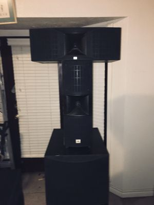 JBL 5 piece Home theater speaker system for Sale in Victorville, CA