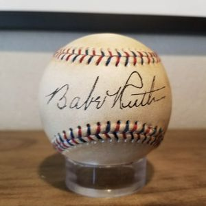Babe Ruth Signed Baseball for Sale in Essex, MD