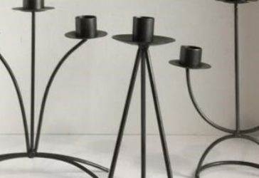 3 Each Metal Candlebra ..Candle Holders for Sale in Houston,  TX