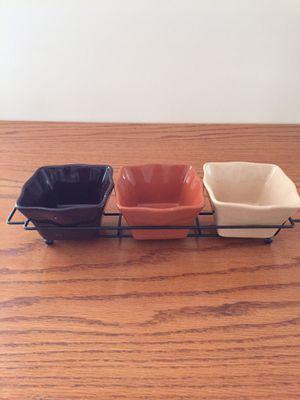 Dip or snack trio - new in box for Sale in Abington, MA