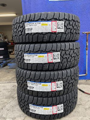 265/70R16 FOUR BRAND NEW TIRES , INSTALLATION & BALANCING INCLUDED for Sale in Rialto, CA