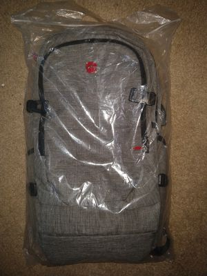 GREY BACKPACK THAT HAS LOCK BUILT IN for Sale in Austin, TX