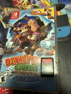 Donkey Kong country tropical freeze for Sale in Rialto, CA