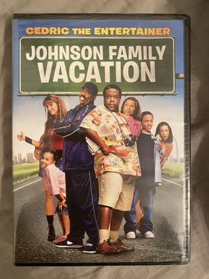 CEDRIC THE ENTERTAIN-JOHNSON FAMILY VACATION DVD NEW for Sale in Murrysville, PA