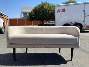 Joybird MCM Elsie bench retail $950 lucky divine bed bench for Sale in Montclair, CA