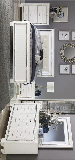 💁♀️Best Offer 💁♀️- $39 Down 👍👍BedRoom Set (4-PIECE QUEEN bed,Dresser,mirror,Nightstand 🌸🌸 for Sale in Houston, TX