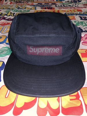 Supreme navy 3m reflective camp cap for Sale in Portland, OR
