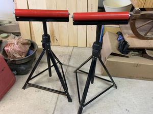 2 Material Support Rollers (Like New) for Sale in Albuquerque, NM