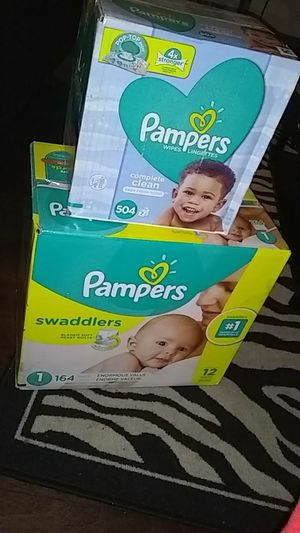 Pampers and wipes for Sale in Charlotte, NC