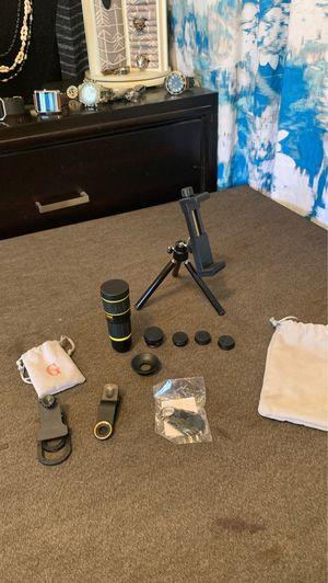 18x mobile telephone lens kit for Sale in San Bernardino, CA