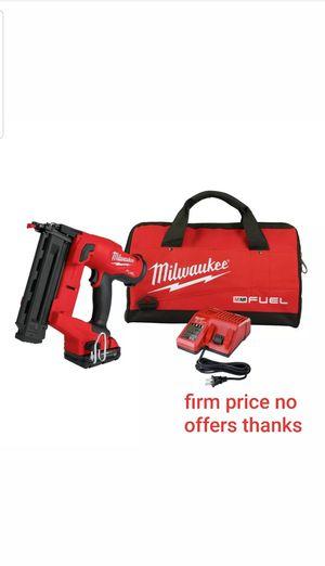 Milwaukee 2746-21CT M18 FUEL 18 Ga. Brad Nailer Kit New for Sale in UPR MARLBORO, MD
