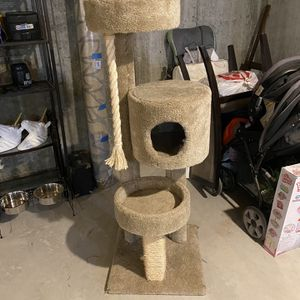 5 Foot Tri-Level Cat Tower for Sale in Manchester, CT