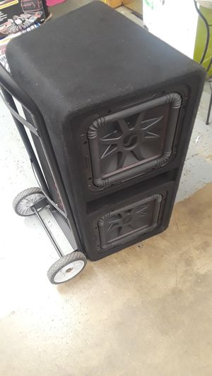 Pair of 12s, kicker l7r 1300 watts for Sale in Vancouver, WA