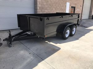 Brand New Hydraulic Dump Trailer 8x10x2 for Sale in Santa Monica, CA