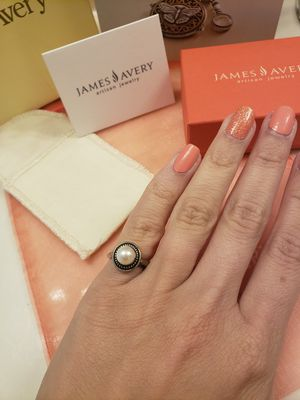James Avery Pearl Ring for Sale in Porter, TX