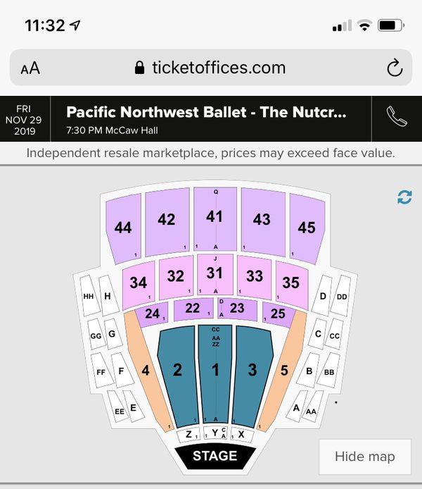 Pacific Northwest Ballet- The Nutcracker November 30th at 7:30