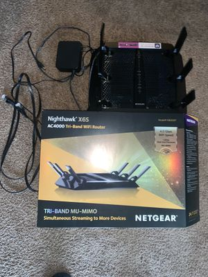 Nighthawk x6S wifi Router for Sale in Naples, FL
