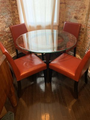 Crate and Barrel Dining Room Set for 4 for Sale in Washington, DC