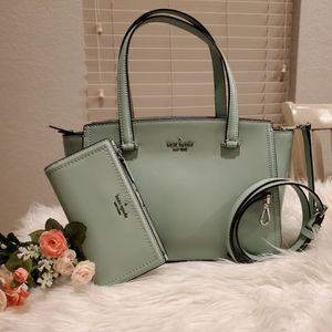 Kate Spade Purse Set New Bag Green Color for Sale in Dallas, TX