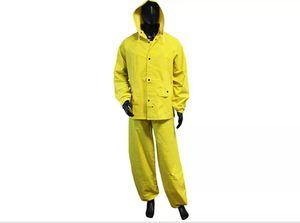 Construction Ahead 3 Piece Heavy Duty Industrial Rain Suit - S8900 Men's 2XL for Sale in Rancho Santa Margarita, CA