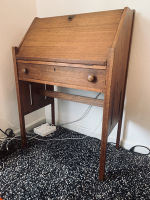 Mid Century Secretary Desk for Sale in San Jose, CA
