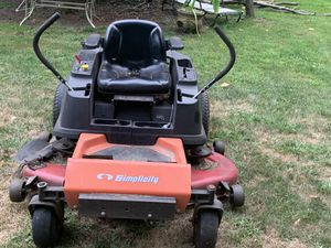 Simplicity zero turn 52inch cut 26 horse power for Sale in Westerville, OH