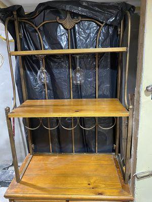 Glass & wine rack for Sale in North Bergen, NJ