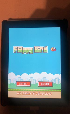 iPad 2 with Flappy Bird Installed for Sale in Fairfax, VA