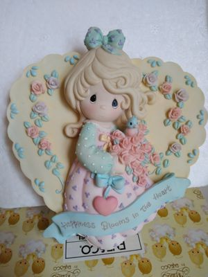 Precious Moments 3 D Plaque Happiness Blooms In The Heart for Sale in Maywood, IL