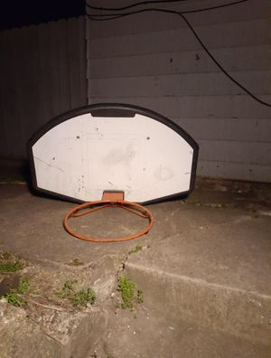Basketball hoop and Backboard only for Sale in Oak Park, IL
