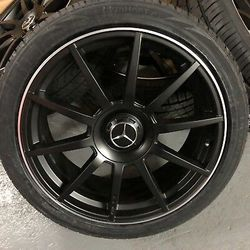 Mercedes Benz wheels AMG rims E-class C-Class S-class GL ml GLE for Sale in West Covina,  CA