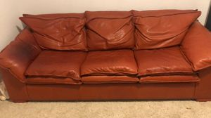 Leather couch for Sale in Lansdowne, VA
