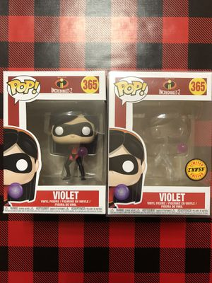 Violet Funko POP! Common & CHASE #365 Disney Incredibles 2 for Sale in Milpitas, CA