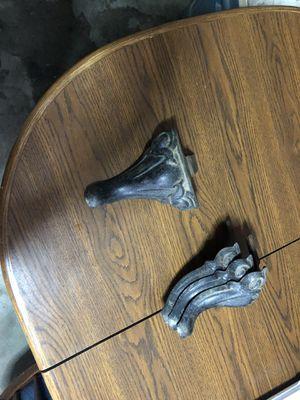 Antique Mascot Iron stove legs for Sale in Fresno, CA
