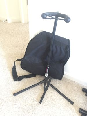 Guitar Stand & Guitar Bag for Sale in Arbutus, MD