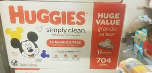 New huggies wips for Sale in San Diego, CA