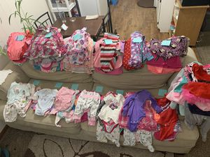 LOTS of baby girl clothes for Sale in Bentonville, AR