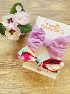 Infant Toddler Girls Bow Headband Set for Sale in Goodyear, AZ