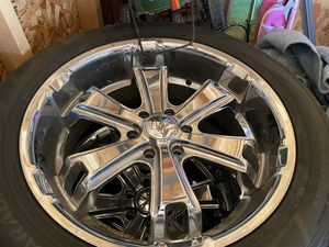 """22"""" tires and rims for Sale in Chicago, IL"""