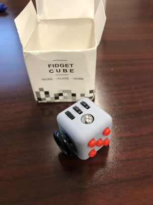 Fidget Toy Cube Stress Anxiety Relief Desk Relief 6 Sided For Adults Kids Focus for Sale in Victoria, TX